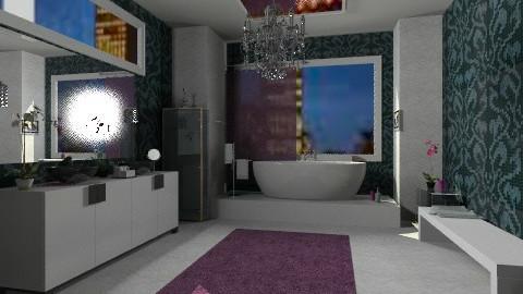 bath  - Glamour - Bathroom  - by nenasilver 26