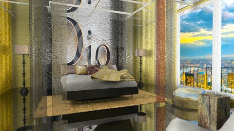 dior bedroom  - Minimal - Bedroom  - by Mark T