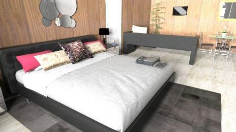 badroom casal - Glamour - Bedroom  - by deleted_1620345943_kellassuncao