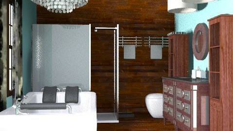 Dream br - Glamour - Bathroom  - by lysha
