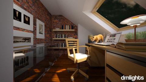 Kitty in Study - by Valentinapenta