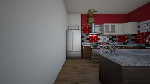 my dream kitchen - Kitchen  - by unicorndonut81