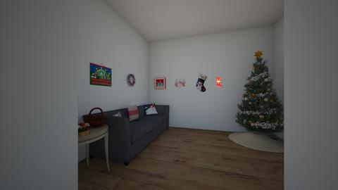 christamas room - Living room - by miranwilli24
