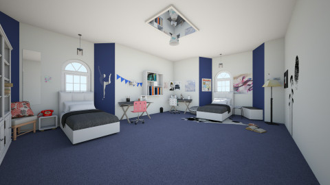 Sister Bedroom - Bedroom - by Sunny Bunny