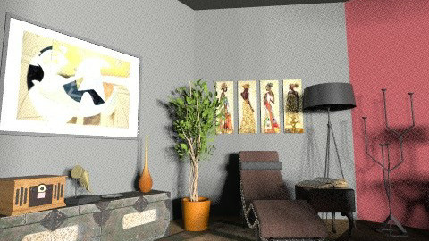 lectura - Eclectic - Office  - by estefaniaderos