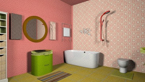 1970s Modern Bathroom 3 - Retro - Bathroom  - by tillla01