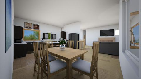 Sam and Heidis Kitchen  - Kitchen - by REAL MEE