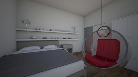 cuarto - Classic - Bedroom - by lolasanchezgomez