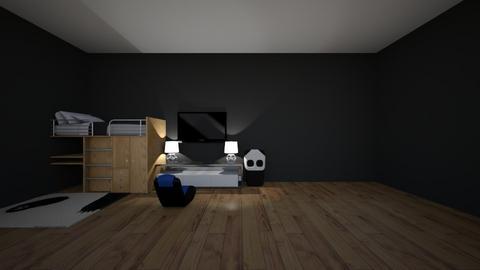 blue panda - Modern - Bedroom  - by matildabeast