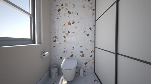 Modern country house7 - Bathroom  - by AleksandraZaworska98