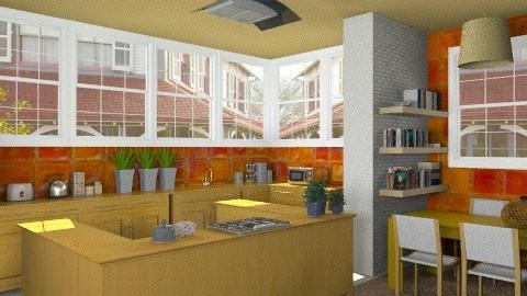 kitchen - Modern - Kitchen  - by Aliya Al