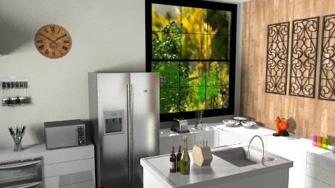 Cozinha - Modern - Kitchen  - by danielle_figueiredo