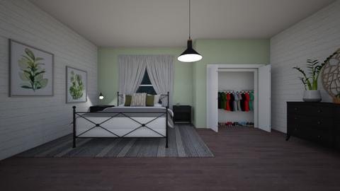 Teen Bedroom Floorplan - Bedroom  - by Destiny Michelle
