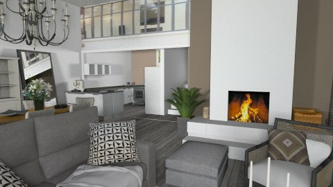 ma prochaine reno - Eclectic - Living room  - by calu13