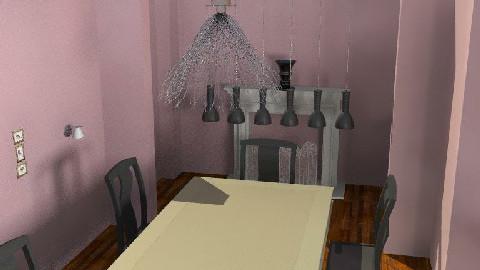 Prupleeeee Diningroom - Dining Room  - by AC123107