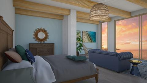 beach room - Bedroom  - by seeeeeesiiiiiiii