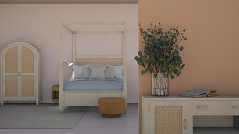 organic bedroom house - Bedroom  - by cozB12