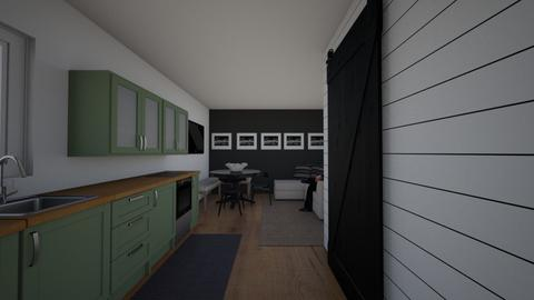 Cekadi studio apartment - Bathroom  - by Studio Spark