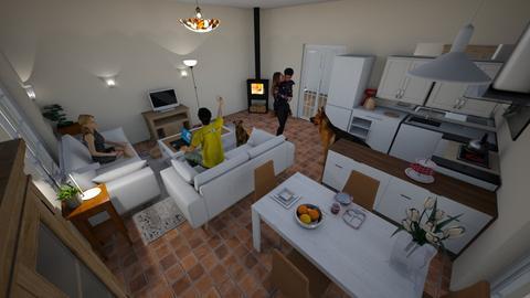 DIning room - Dining room - by xana19