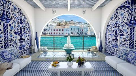 Design 72 Mediterranean Spa - Garden  - by Daisy320
