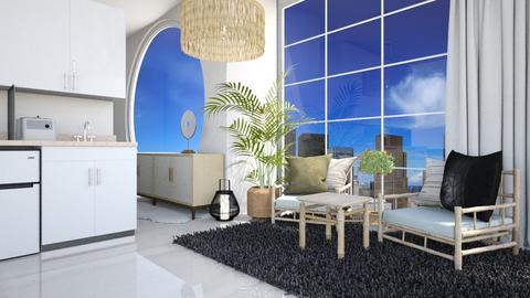 Japandi - Living room  - by Meghan White