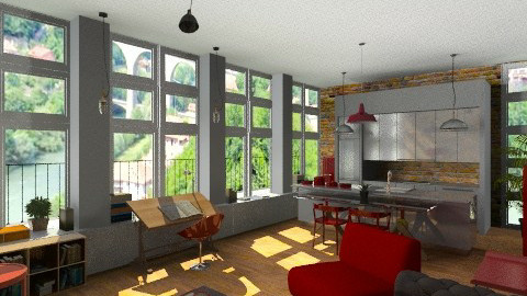 Mill Conversion - Eclectic - Living room  - by camilla_saurus