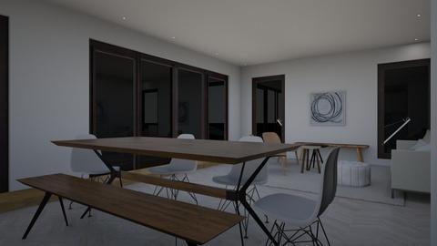 Recessed lighting draft 1 - Living room  - by gleidy