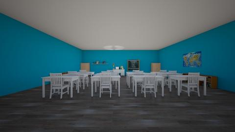 school classroom - by designgirl22