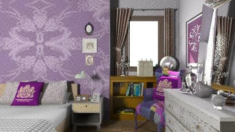Sides - Eclectic - Bedroom  - by mrschicken