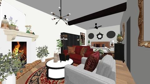 Westphal Master Suite - Eclectic - Bedroom  - by elysebassler11