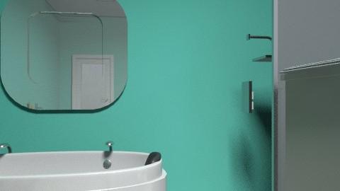 My masterbath - Minimal - Bathroom  - by fantabulous rooms 2011
