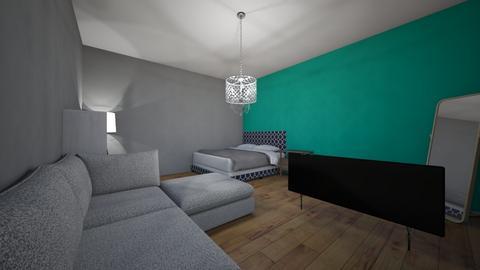 sypialnia - Bedroom  - by ziuza
