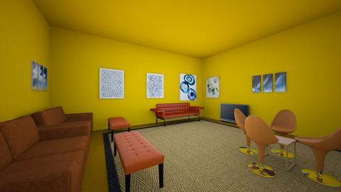 color pallet assigment - Living room  - by 1956245JT
