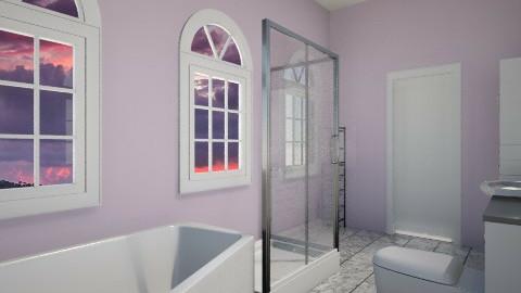 bathroom en suite - Modern - by SnofflesMcwaffles
