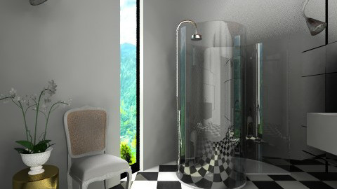 Agape XO Shower Room - Minimal - Bathroom  - by 3rdfloor