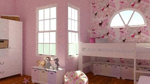 Girl 2 - Classic - Kids room  - by karoliina1985