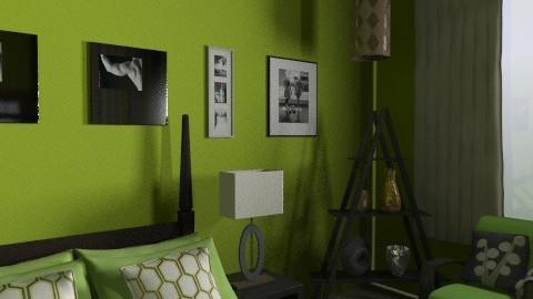 Jill Ferrariz  - Eclectic - Bedroom  - by jackiefruit