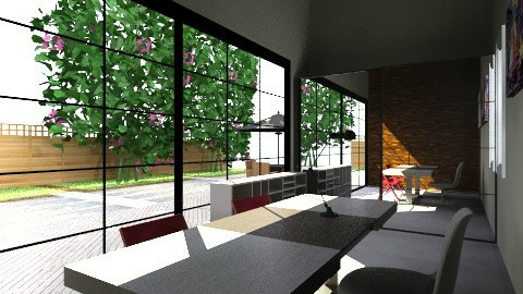 ECO ALDEA OFICE - Glamour - Office  - by domuseinterior