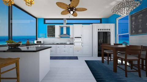 Seaside Kitchen - Kitchen  - by SammyJPili