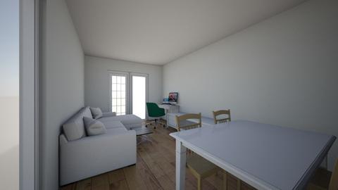 Tip L pe geam  - Living room  - by tkadi21