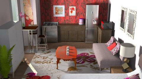 Suite 200 - Eclectic - Bedroom  - by channing4