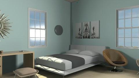 Beachish room - Minimal - Bedroom  - by TheAlgonaGirl