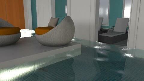 Pool - Modern - Garden  - by drummerx33grl17