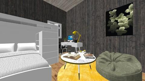 Art Project Bedroom - Modern - Bedroom - by Brena_PT