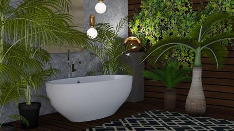 Jungle Bath - by kyrabaldwin