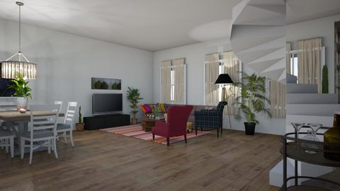 ground floor_Malenes edit - Dining room  - by Malundte