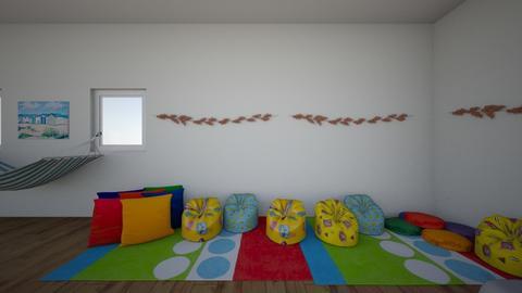 Bright Curvy Room - Retro - by deleted_1607029281_24coscarson