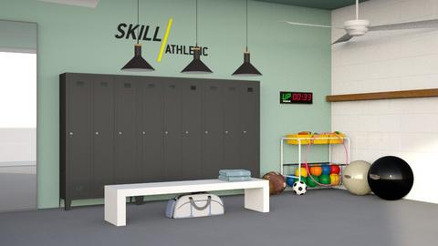 locker room - by nitya_avvari