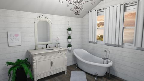 Shabby Chic Bathroom - Bathroom  - by JoJo Y