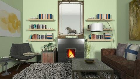 archaic mayhem - Eclectic - Living room  - by PennyDreadful